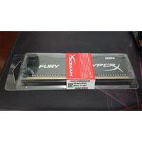 Memória HyperX Fury, 8GB, 2400MHz, DDR4, CL15, Preto - HX424C15FB2/8