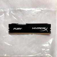 Memória Kingston HyperX 8GB 1600MHz DDR3 CL10 DIMM HyperX FURY Black Series HX316C10FB/8