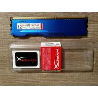 Memória Kingston HyperX FURY 4GB 1600Mhz DDR3 CL10 Blue Series - HX316C10F/4